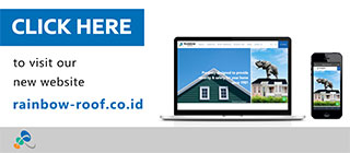 Our New Website - www.rainbow-roof.co.id